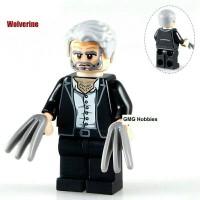Jual Logan Old Minifigure Super Heroes X-Men Marvel Lego Custom KW Murah