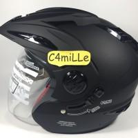 Helm RN Double visor Black dop