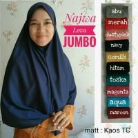 harga Jilbab/kerudung/hijab Najwa Instan Lova Tokopedia.com