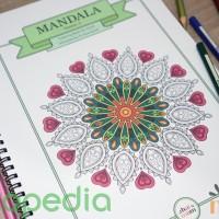 Jual Mandala Season-2 / Mewarnai untuk Dewasa / Coloring for Adults Murah