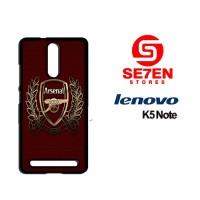 Casing HP Lenovo K5 Note Arsenal new Custom Hardcase Cover
