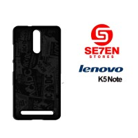 Casing HP Lenovo K5 Note ACDC Dark Custom Hardcase Cover