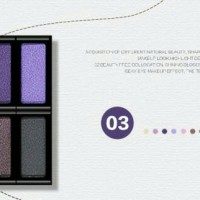 bioaqua flare eyeshadow eye shadow crystal diamond shine pallet no 03
