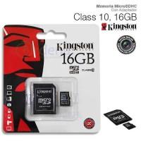 harga Micro Sd 16gb Kingston Uhs-i Class 10 Original Tokopedia.com