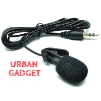 Jual Microphone with Clip for Smartphone 3.5mm  Mic Clip On Murah