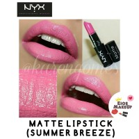 NYX MATTE LIPSTICK SUMMER BREEZE