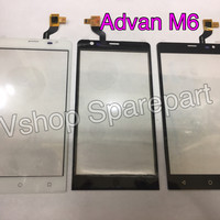 Touchscreen Advan M6 Black/White