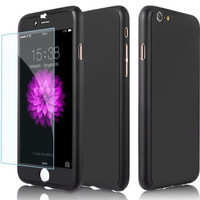 Case Full Cover 360 Neo Hybrid Tempered Glass Iphone 5 6 6plus 7 7Plus