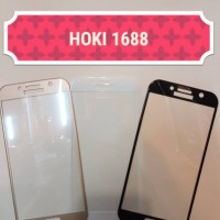 Tempered Glass Samsung A7 2017 / A720 Full layar LCD Curved antigores
