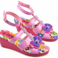 sepatu sandal anak perempuan, wedges anak cewek (WKD 12)