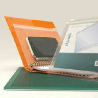 Zip pocket B5 multiring binder BANTEX murah