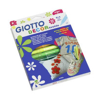 Spidol permanen khusus kain GIOTTO 12 warna/Decor textile spidol