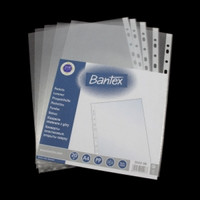 POCKET FILE A4 BANTEX PP clear