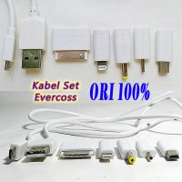 Kabel Charger Set Evercoss IPad Iphone Nokia Micro Mini USB Charge