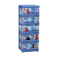 harga Lemari Plastik Napolly 5 Susun Laci Frozen 5000 Froz Tokopedia.com