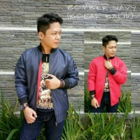 Jaket Bomber Bolak Balik Navy Premium / Jaket Murah / Grosir Jaket