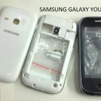casing Samsung galaxy young GT S6310 fullset original