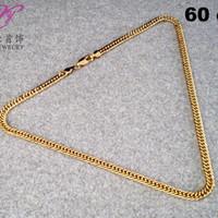 Jual TRAND Yaxiya xuping kalung rantai perhiasan imitasi lapis emas aksesor Murah