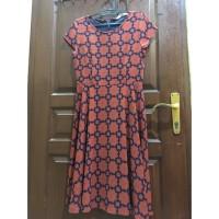 Minimal Midi Dress Floral