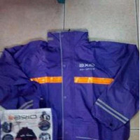 Jas Hujan Axio Original 100% Dengan Puring logo dan merk axio