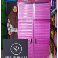 lemari plastik lemari pakaian GIANT gantung
