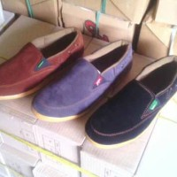 Sepatu Pantofel Slip On Casual Santai by Kickers