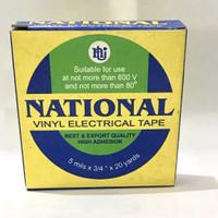 isolasi listrik /vynil electrical tape / lem kabel merk nasional