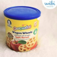 Jual Gerber Graduates Wagon Wheels - Apple Harvest Murah