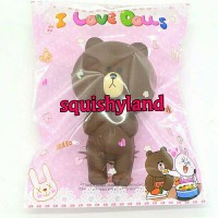 Brown Bear Squishy Kawaii Bread Line Friends