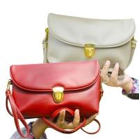 12 warna pouch tas wanita [ Clutch/SOFIA/kulit sintetis ]