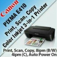 Printer Canon E410 Multifungsi
