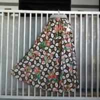 celana kulot cutbrey batik merk hap motif kawung modifikasi