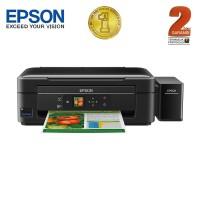 Epson Printer Multifungsi L485 Wifi - Hitam (Print, Scan, Copy)