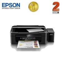 Epson Printer Multifungsi L385 Wifi - Hitam (Print, Scan, Copy)