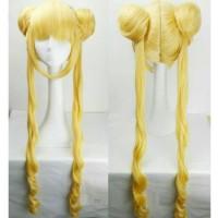 Wig Usagi Sailor Moon RsW 2 Import Taobao Twintail Cosplay Cewek