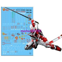 Water Decal PG Astray Red Frame by DL MODEL