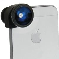 [PROMO] Lesung Fisheye 3 In 1 Photo Lens Quick Change C X-I005 - Black