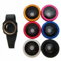 [PROMO] Lesung Clip Filter Fisheye Lens No 7 For IPhone X-P007 - Black