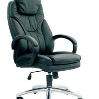 kursi kantor direktur chairman kulit asli mewah,modern dan nyaman