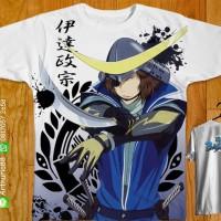 T-shirt fullprint Sengoku Basara Masamune Date