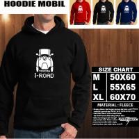 JAKET HOODIE OTOMOTIF MOBIL TOYOTA I ROAD SILUET TD/Hoodie/Sweater