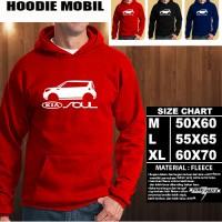 JAKET HOODIE OTOMOTIF MOBIL KIA SOUL SILUET TS/Hoodie/Sweater
