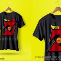 T-SHIRT ANIME DRAGONBALLZ - Z BLACK