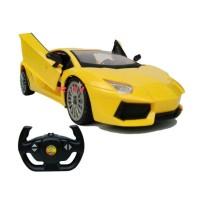 Mobil Remot Control Lamborghini Aventador Buka Tutup 2Pintu