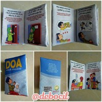 buku bantal anak mini: doa anak muslim