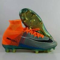 Sepatu Soccer Mercurial Superfly 5 EA Games Replika Impor