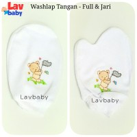 Jual Washlap Putih Handuk Tangan Bayi Murah