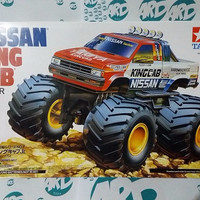 Mini 4WD - Tamiya - Nissan King Cab (Big Foot)