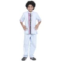 Baju Muslim Azka Koko Anak KaSK-23 Light Blue (Koko+Celana)