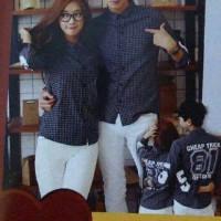 Baju Kemeja Couple Trick | Kaos Couple Murah | Fashion couple